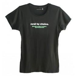 Rural by Choice Ladies T-shirt