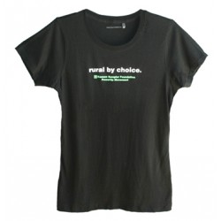 Rural by Choice Ladies T-shirt