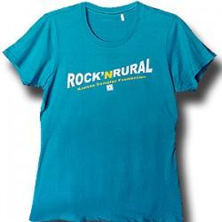 Rock \'n Rural Ladies Tshirt - Aqua
